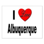 I Love Albuquerque Small Poster