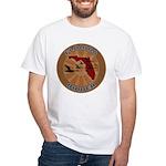 Florida Birder White T-Shirt