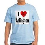 I Love Arlington Light T-Shirt