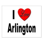 I Love Arlington Small Poster