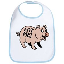 Pinky the BBQ Pig * Bib