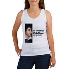 "Byron ""She Walks"" Women's Tank Top"