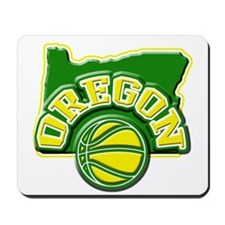 Oregon Basketball Mousepad