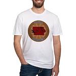 Iowa Birder Fitted T-Shirt