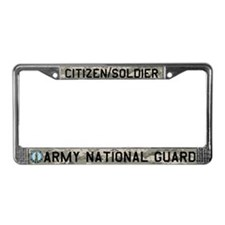 Army National Guard License Plate Frame