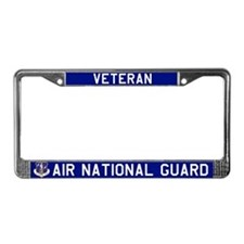 ANG Vet License Plate Frame