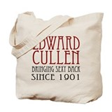 Sexy Edward Cullen Tote Bag