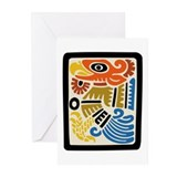 Mexican Aztec Eagle Greeting Cards (Pk of 10)