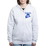 Maine, Come In! Women's Zip Hoodie