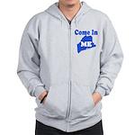 Maine, Come In! Zip Hoodie