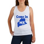 Maine, Come In! Women's Tank Top
