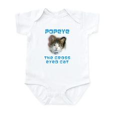 Cute Popeye Infant Bodysuit