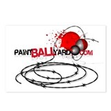 Cute Paintball Postcards (Package of 8)