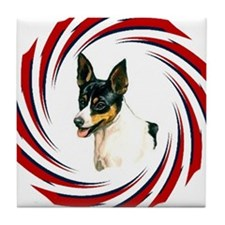TOY FOX TERRIER Tile Coaster