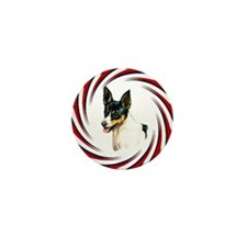 TOY FOX TERRIER Mini Button