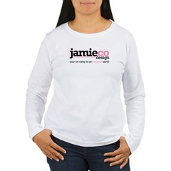 JamieCo Design Logo Women's Long Sleeve T-Shirt