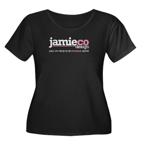 JamieCo Design Logo Women's Plus Size Scoop Neck D