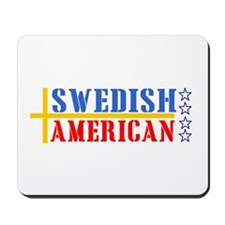 Swedish American Mousepad