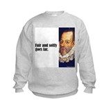 "Cervantes ""Fair & Softly"" Sweatshirt"
