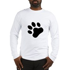 Paw Print Long Sleeve T-Shirt