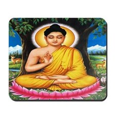 Buddha In Meditation Mousepad