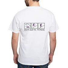 Don't Just Tri, Tri Hard (Box) Shirt