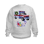EMS Happy Holidays Greetings Kids Sweatshirt