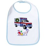 EMS Happy Holidays Greetings Bib