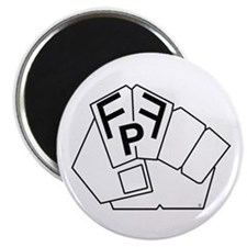Cute Fist pump Magnet
