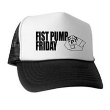 Fist Pump Friday Trucker Hat