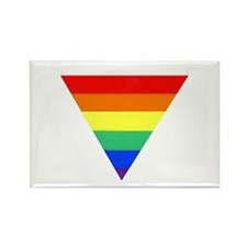 rainbow triangle Rectangle Magnet