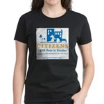 Pets in Condos Women's Dark/Colored T-Shirt