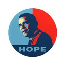 "Cute Obama hope 3.5"" Button"