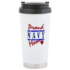 Proud Mom Ceramic Travel Mug