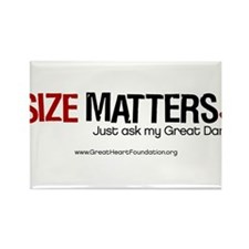 Size Matters Rectangle Magnet (10 pack)