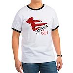Capoeira Girl Ringer T