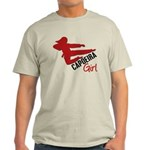 Capoeira Girl Light T-Shirt