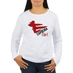 Capoeira Girl Women's Long Sleeve T-Shirt