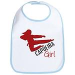Capoeira Girl Bib