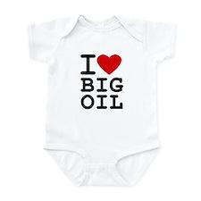 I <3 Big Oil Infant Bodysuit