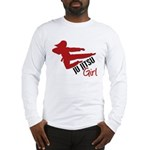 Ju Jitsu Girl Long Sleeve T-Shirt