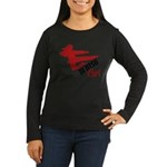 Ju Jitsu Girl Women's Long Sleeve Dark T-Shirt