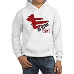 Ju Jitsu Girl Hooded Sweatshirt