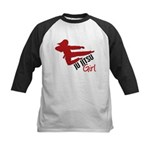 Ju Jitsu Girl Kids Baseball Jersey