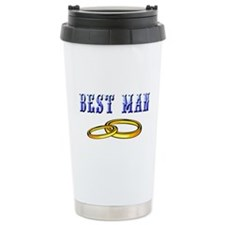 Best Man(rings) Travel Mug