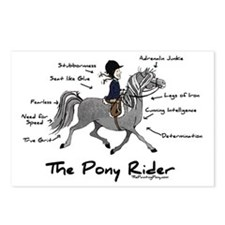 Pony Rider Equestrian Postcards (Package of 8)