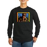 Rastafarian Long Sleeve Dark T-Shirt