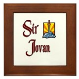 Sir Jovan Framed Tile