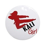 Kali Girl Ornament (Round)
