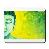 Blue Buddha Mousepad